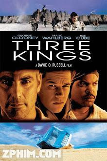 Những Kẻ Săn Vàng - Three Kings (1999) Poster