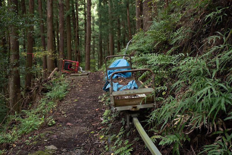 181111 林業用のモノレール