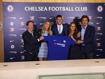 Chelsea complete £70m Morata signing from Real Madrid