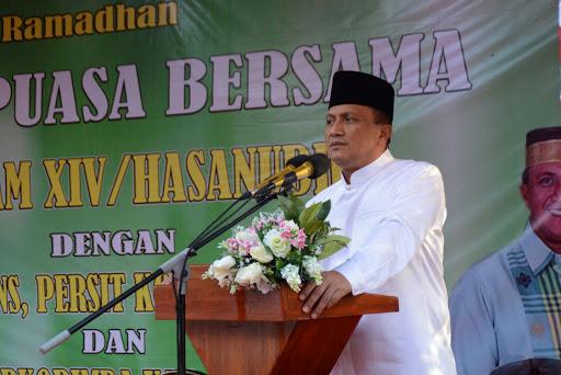 Pangdam XIV/Hsn Ajak Prajurit Kodim 1422/Maros Jaga Ukhuwah Islamiah
