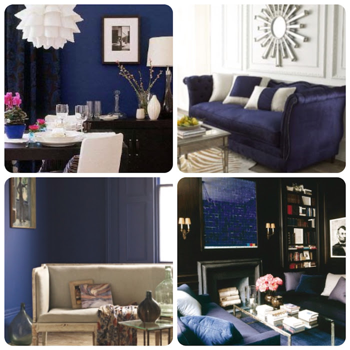 Interior Design Deep Blue