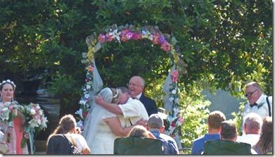 Wedding at Huntley Park, Gold Beach Oregon