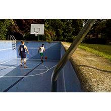 Ikenaga, Hisae - ¨Piscina-Baloncesto¨ de la serie ¨ Sistema métrico campo de fútbol¨