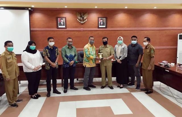 DPRD Kapuas Terima Kunjungan Legislator Bumi Bastari