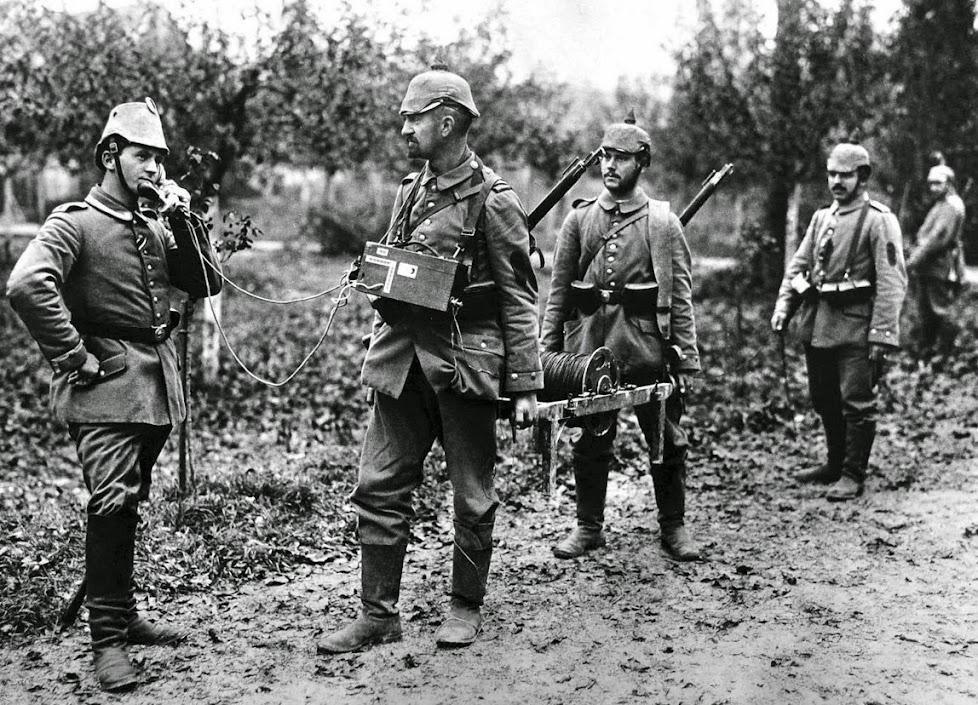 Немецкие офицеры первой мировой войны