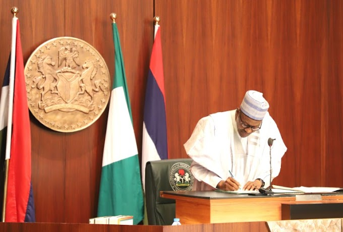President Buhari signs five bills into law (Read full details)