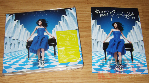 [CD Packaging] Angela Aki - BLUE (CD+DVD)
