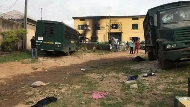 Gunmen attack Imo Police Command, Correctional Centre, free inmates