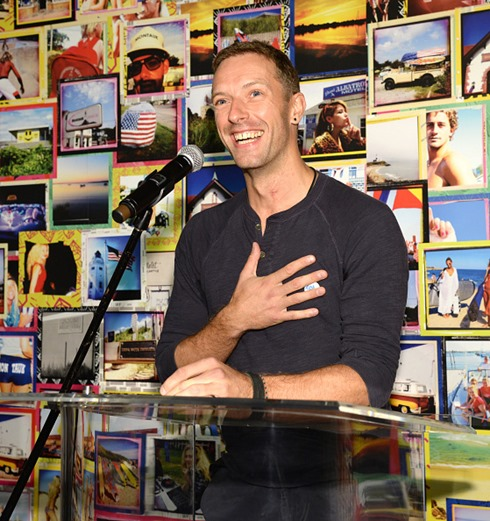 Chris Martin 2015 Global Citizen Festival launch party14