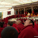 Massive religious gathering and enthronement of Dalai Lama's portrait in Lithang, Tibet. - l29.JPG