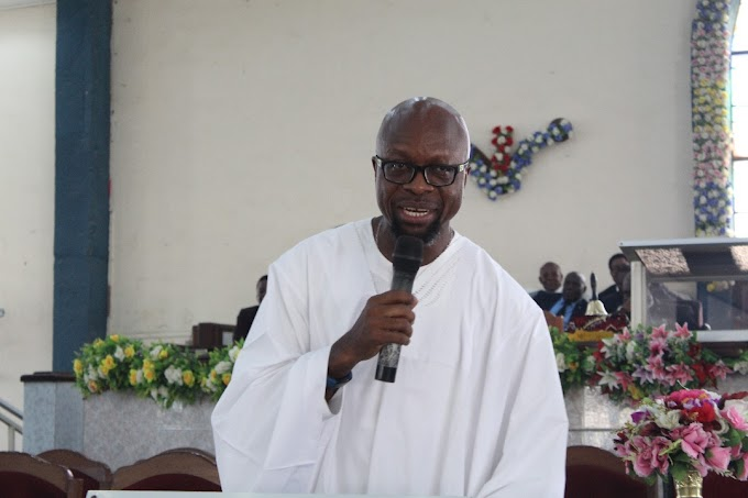 We Cannot monetize our Christianity - Eyo Ekpo as He Visits Apostolic Church