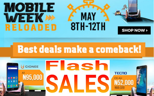 Jumia Mobile Week Cheapest Phones