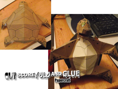 Dragon Ball Z Turtle Papercraft