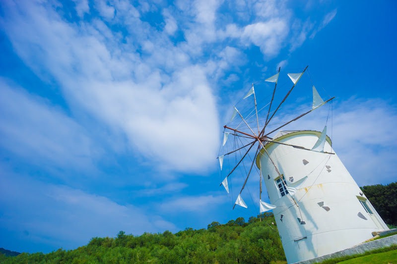 Shodoshima Olive Park, Greek windmill 5