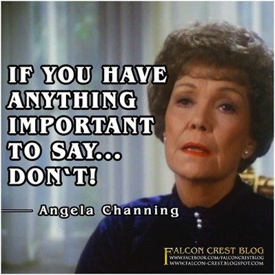 #083_Angela_If you have anything important to say_Falcon Crest