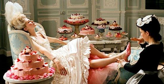 Marie Antoinette Kirsten Dunst Cake Dessert