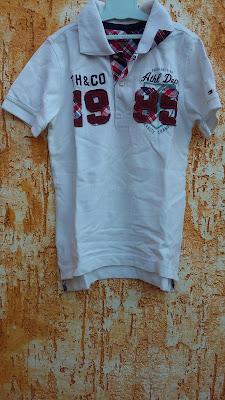 fabe1c6f63 BreShop da Mah  Camisa Polo Infantil by Tommy Hilfiger