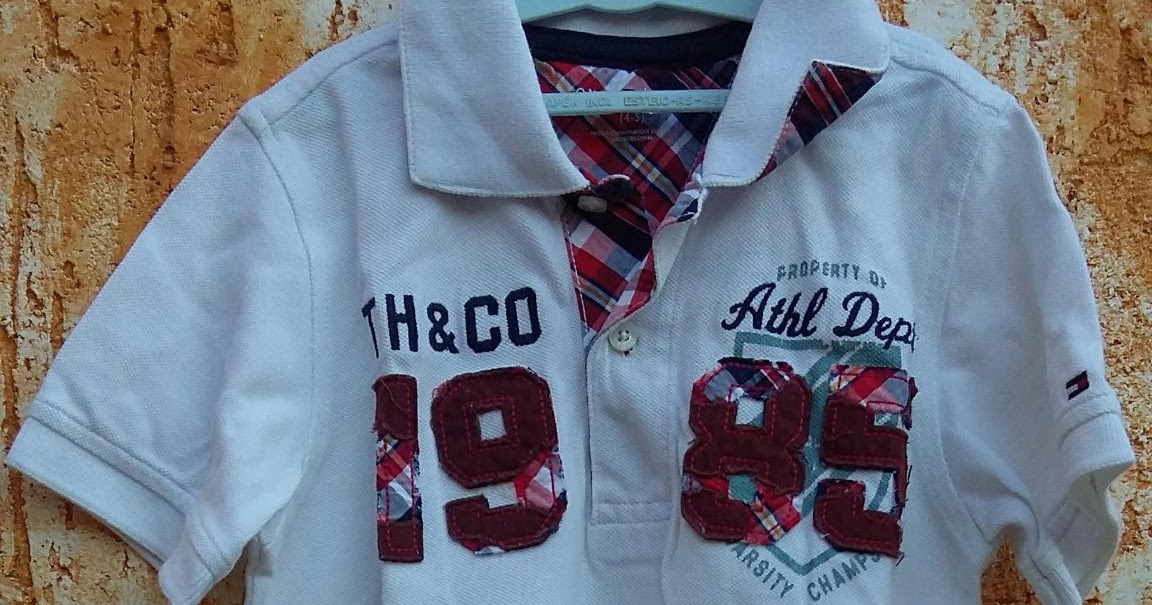 c67f73abbfad6 BreShop da Mah  Camisa Polo Infantil by Tommy Hilfiger