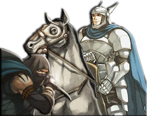 Доблестный рыцарь и злой разбойник
