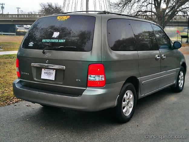 2005 kia sedona minivan specifications pictures prices. Black Bedroom Furniture Sets. Home Design Ideas