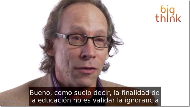 Lawrence Krauss  Enseñar creacionismo es abuso infantil