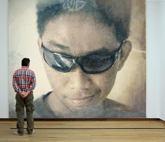 Hasil dari Photofunia.com