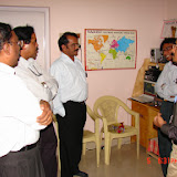 Demonstration of Amateur Radio Satellite communication to Mr Annadurai and Mr Raghavamurthy - DSC00125.JPG