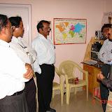 Demonstration of Amateur Radio Satellite communication to Mr Annadurai and Mr Raghavamurthy - DSC00125.JPG