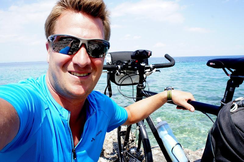 Fahrrad-Selfie