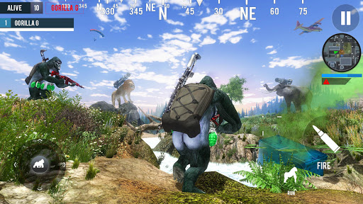 Gorilla G Unknown Simulator Battleground  screenshot 4