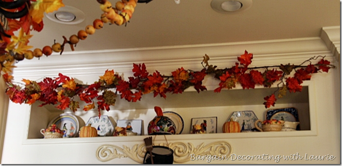 Halloween Decor over Kitchen Range