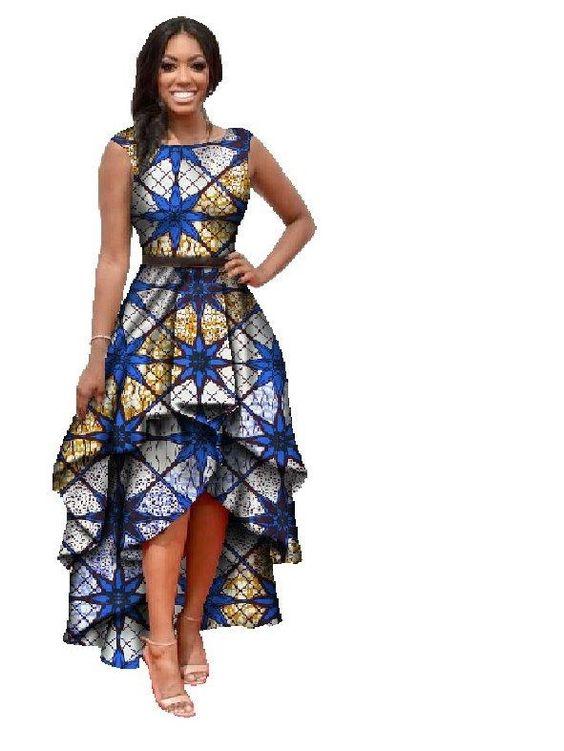 THE BEST RUFFLE DRESS DESIGNS SOUTH AFRICAN WOMEN LOVE TO WEAR 1
