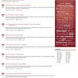 Projeto: MSDN Brasil Blog Agregador
