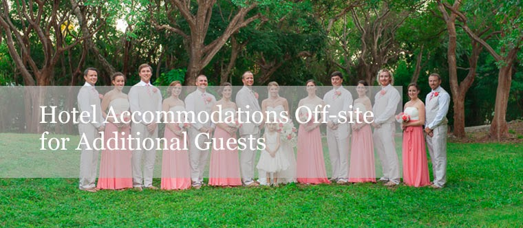 Hotel accommodations in Florida Destination weddings