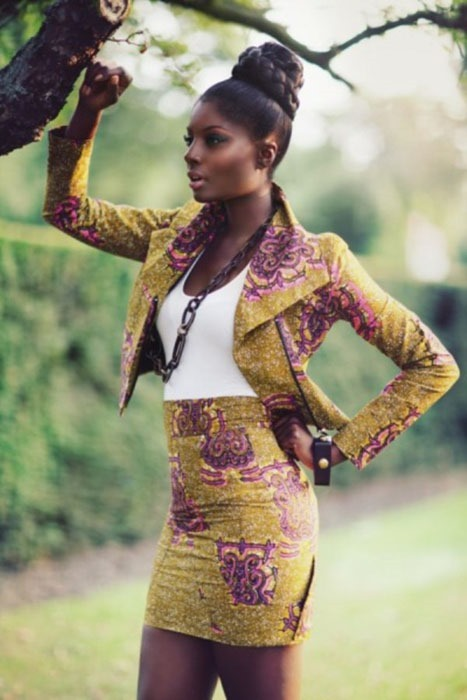 ankara short gown designs (1)