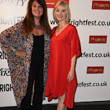 OIC - ENTSIMAGES.COM - Barbra Crampton and Caroline Munroe  at the Film4 Frightfest on Sunday    of   UK Film Premiere at the Vue West End in London on the 30th August 2015. Photo Mobis Photos/OIC 0203 174 1069
