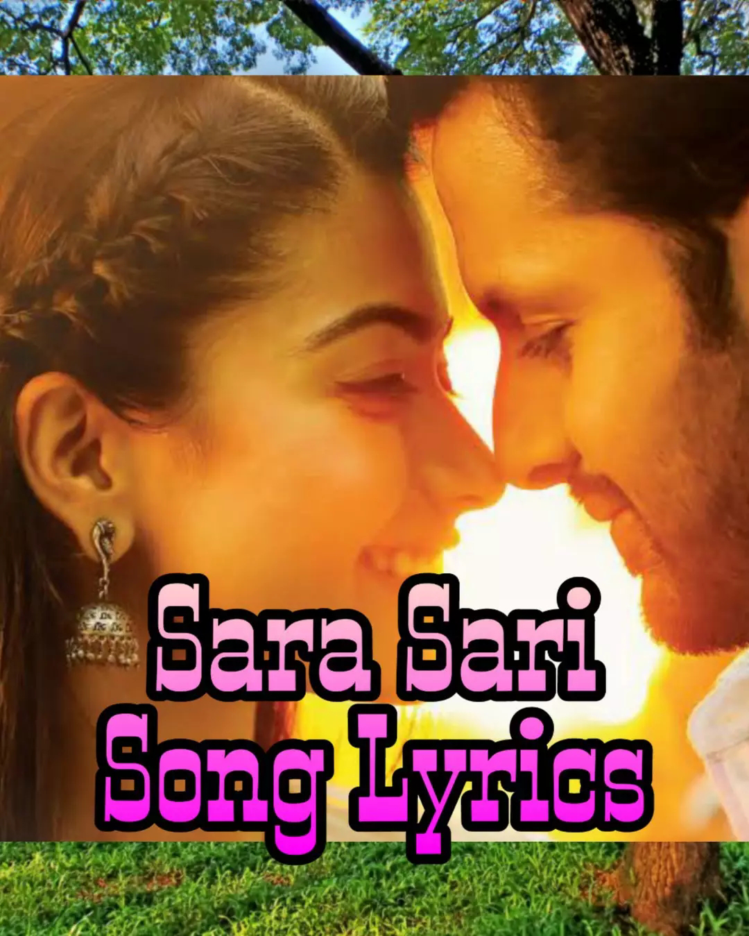 Sara Sari Song Lyrics Bheeshma