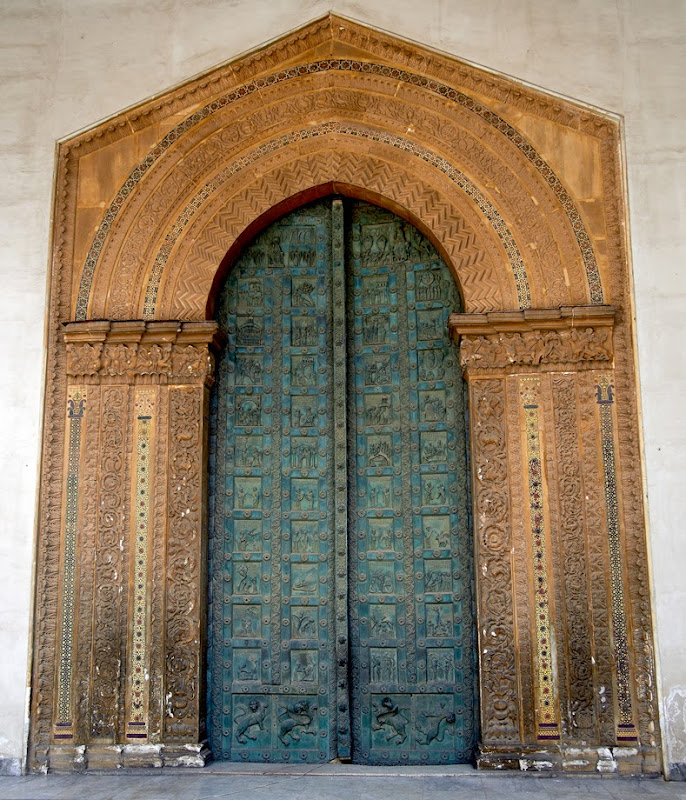 26. The West Door of Monreale Cathedral. XII Century. Monreale. Sicily. 2013