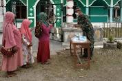 Satgas Yonif RK 751/VJS BersamaMasyarakat Peringati Maulid Nabi Muhammad SAW