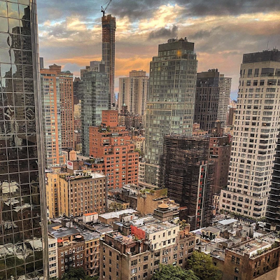 Office view of Manhattan's East Side