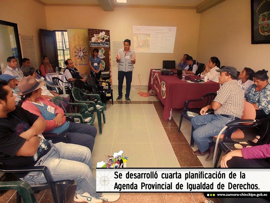 SE DESARROLLÓ CUARTA PLANIFICACIÓN DE LA AGENDA PROVINCIAL DE IGUALDAD DE DERECHOS.