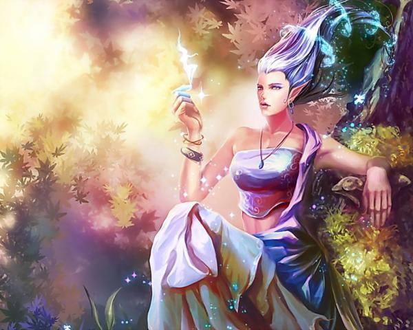 Mysterious Magician, Sorceress 2