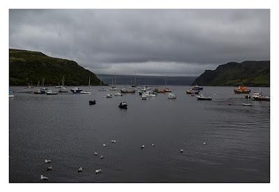 Produkttest Softshell-Jacke - Test bei schlechtem Wetter auf der Isle of Skye