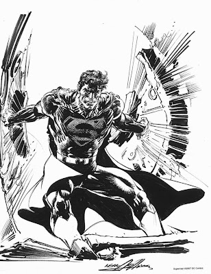 SUperman sketch by Neal Adams