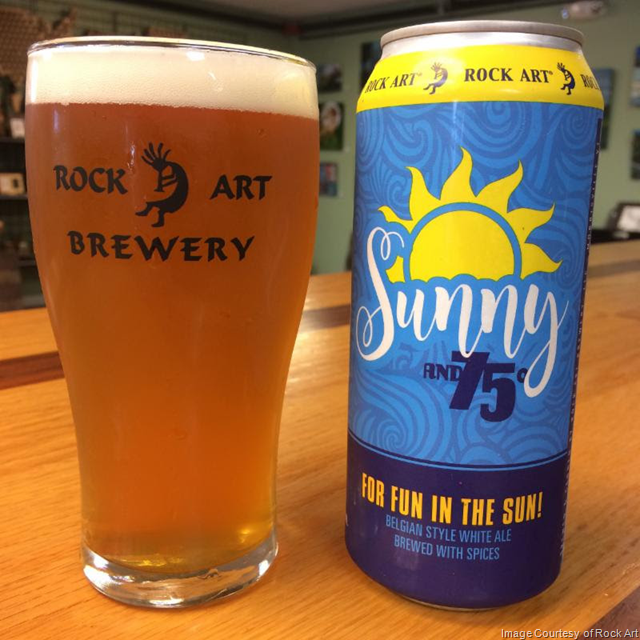 Rock Art Releasing Sunny & 75 and Session IPA