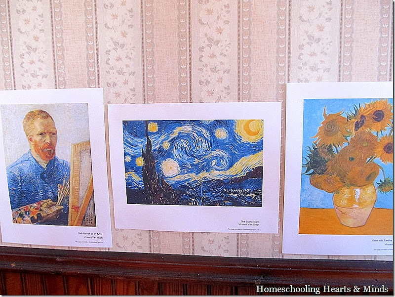 Van Gogh Picture Study Homeschool