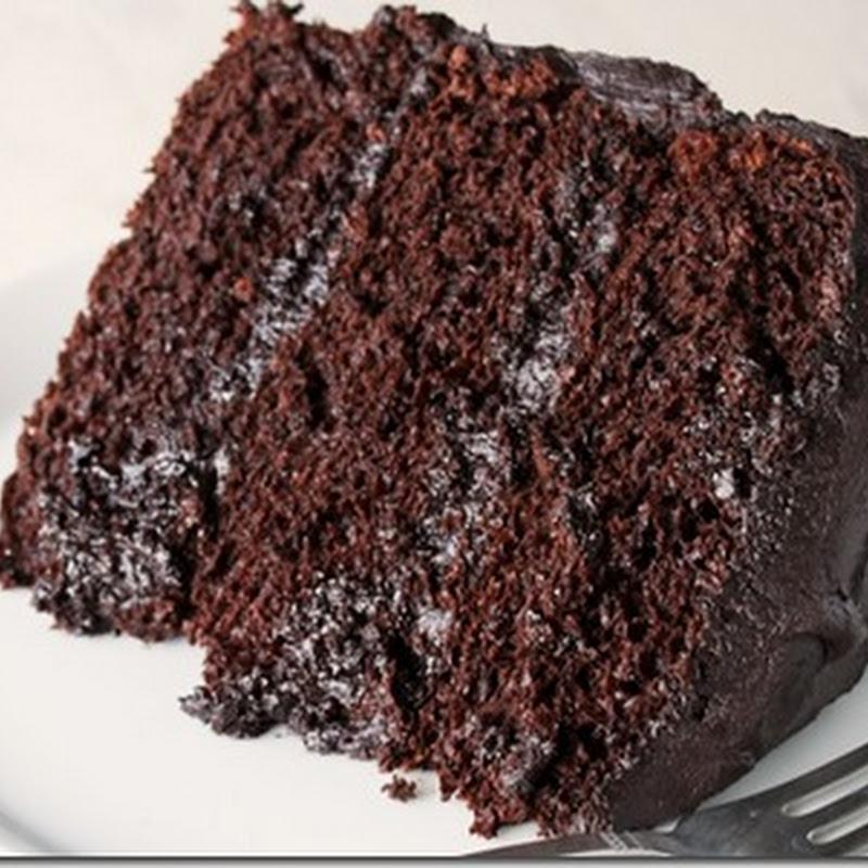 Resepi Kek Coklat Moist Lembab Bakar Surasmi F