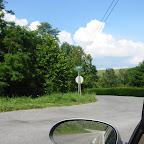 Approach to Gleaves Road in Wythe County, Virginia