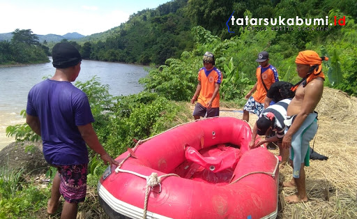 28 Jam Tenggelam di Sungai Cimandiri, Jenazah Korban Berhasil Dievakuasi