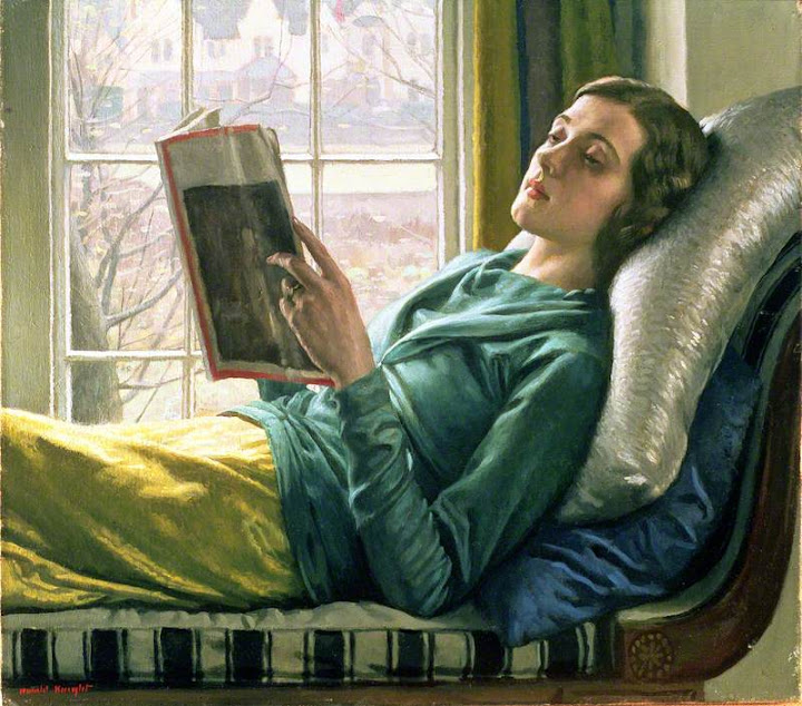 Harold Knight - Girl Reading